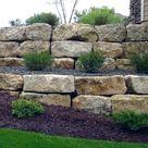Top 40 Best Stone Edging Ideas - Exterior Landscaping Designs
