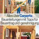 Carport Bauanleitung | selbst.de