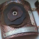Metallic Leather