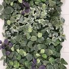 Artificial Ivy Green Living Wall Panel 50cm x 50cm Easy | Etsy