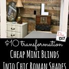 Window Treatment How to Take Blinds from Cheap to Chic