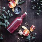 Blutorangen Gin Tonic mit Ingwer und Kardamom - trickytine