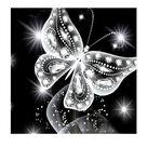 diy 5d diamant malerei stickerei kreuzstich handwerk kristall schmetterling Kristallschmetterling Multi wie beschrieben