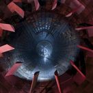 10 inch Photo. Inside the diffuser section of a 16 foot supersonic wind tunnel