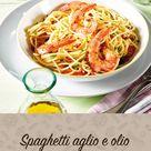Spaghetti aglio e olio mit Riesengarnelen Rezept - leckere Rezepte bei |real-markt.de