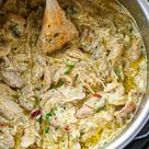 Instant Pot Green Chile Chicken with Cream Cheese