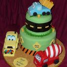 Construction Party Cakes