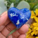 Deep Cobalt Blue Lapis Lazuli Hearts (Lot 1) - F (50g)