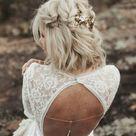 Brautfrisuren kurze Haare und schulterlange Haare: Die schönsten Ideen