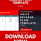 Agile Release Plan Template for Excel, Free Download