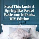 Steal This Look: A Springlike Pastel Bedroom in Paris, DIY Edition