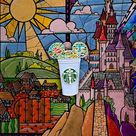 Beauty and the Beast Castle Coffee Cup Pin   Etsy