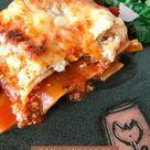 Klassische Lasagne mit Hackfleisch und Creme Fraiche