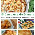 Easy To Make Dinners