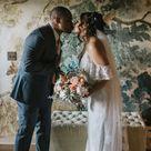 Poconos Outdoor Spring Wedding Ceremony | Micro weddings ideas