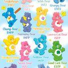 Infografis MBTI Chart Karakter Anime Ternama