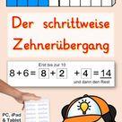 Der schrittweise Zehnerübergang bis 20 – Unterrichtsmaterial im Fach Mathematik