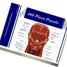 Facial muscles of the human head (with labels). 400 Piece Puzzle. Facial muscles of the human head (with labels).