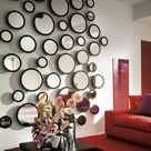 Le grand miroir mural -25 idées pour d'arrangement et décoration - Archzine.fr