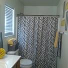Grey Yellow Bathrooms