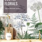 TRENDING: Subtle Floral Design for a Beautiful Farmhouse Kitchen