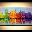 City Skyline Art