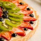 Fresh Fruit Tart with Mixed Berries & Kiwi Recipe - Paula Deen