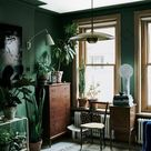 Dark Green Design: Dreamy Rooms + Spaces  — firefly+finch
