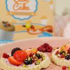 gesunder, kaloriearmer Kuchen