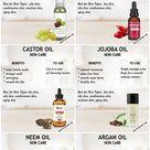 10 Best oils for all skin types - The Little Shine