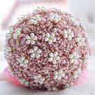 Luxury Bouquet,Pearl Bouquet,Wedding Bouquet,Elegant Bouquet,Bridal Bouquet,Bridesmaid Bouquet,Home Decoration,Wedding Bouquet