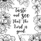 Free Printable Bible Verse Coloring Pages