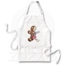 Gingerbread Man Anatomy Apron   Zazzle.com