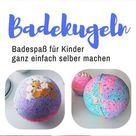 Sprudelnde Badekugeln für Kinder selber machen: So geht´s