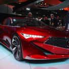 The stunning forthcoming of the newAcura Precision Concept at the 2016 Detroit Motor Show