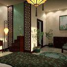 Modern Chinese Bedroom