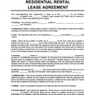 Free Rental & Lease Agreement Forms [Word & PDF Templates]