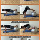Best Exercise Ball Ab Workout At Home