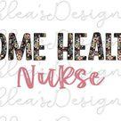 Home health svg nurse png floral sublimation transfer   Etsy