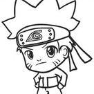 Ausmalbilder Naruto - Malvorlagen kostenlos zum ausdrucken