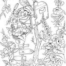 Mail - Printable Adult Coloring Page from Favoreads (Coloring book pages for adults and kids, Coloring sheets, Colouring designs)
