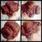 Braided Sock Buns