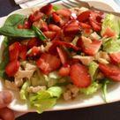 Strawberry Chicken Salads