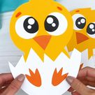 Hatching Chick Craft For Kids