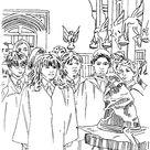 Kleurplaat van Harry Potter en de Steen der Wijzen