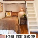 Double height bedrooms perfect for small spaces 🎀👏🏻