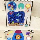activity blanket, toy for autism
