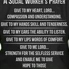 Social Workers prayer