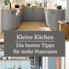 Kleine Küchen: Ideen und Tipps für mehr Stauraum