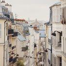 Paris Print View of Cityscape from Montmartre Paris France   Etsy